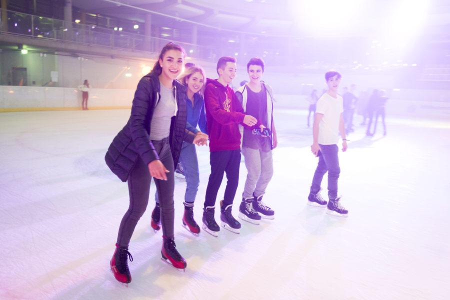 Eislaufen für Schulklassen